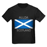 Alloa Scotland Kids Dark T-Shirt