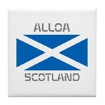 Alloa Scotland Tile Coaster