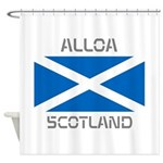 Alloa Scotland Shower Curtain