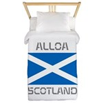 Alloa Scotland Twin Duvet