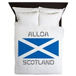 Alloa Scotland Queen Duvet