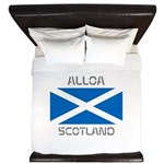 Alloa Scotland King Duvet