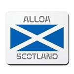 Alloa Scotland Mousepad