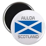 Alloa Scotland Magnet