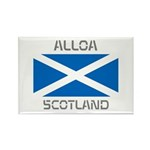 Alloa Scotland Rectangle Magnet (100 pack)
