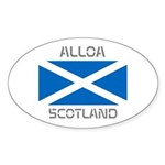Alloa Scotland Sticker (Oval 10 pk)