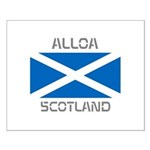 Alloa Scotland Small Poster