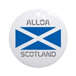 Alloa Scotland Ornament (Round)