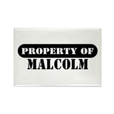 Property of Malcolm Rectangle Magnet
