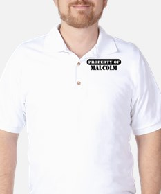 Property of Malcolm T-Shirt