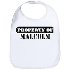 Property of Malcolm Bib