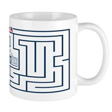 Road to Whitehouse Maze Mugs