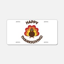 Happy Thanksgiving! Aluminum License Plate