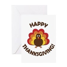 Happy Thanksgiving! Greeting Cards