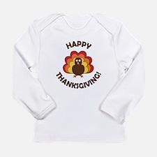 Happy Thanksgiving! Long Sleeve T-Shirt