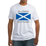 Alloway Scotland Fitted T-Shirt