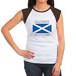 Alloway Scotland Women's Cap Sleeve T-Shirt