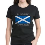 Alloway Scotland Women's Dark T-Shirt