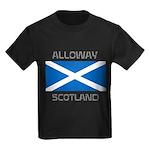 Alloway Scotland Kids Dark T-Shirt