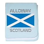 Alloway Scotland baby blanket
