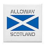 Alloway Scotland Tile Coaster
