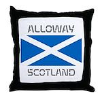 Alloway Scotland Throw Pillow