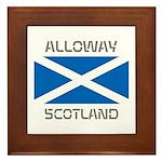 Alloway Scotland Framed Tile