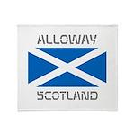Alloway Scotland Throw Blanket