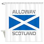 Alloway Scotland Shower Curtain