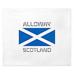 Alloway Scotland King Duvet
