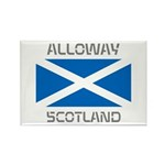 Alloway Scotland Rectangle Magnet (10 pack)