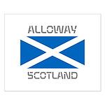 Alloway Scotland Small Poster