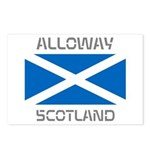 Alloway Scotland Postcards (Package of 8)