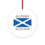 Alloway Scotland Ornament (Round)