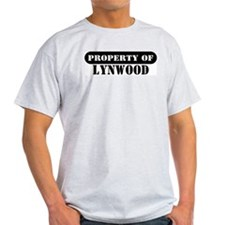 Property of Lynwood Ash Grey T-Shirt