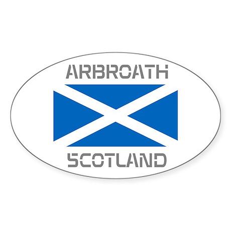 Arbroath Scotland Sticker (Oval)