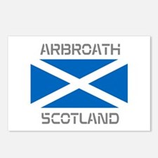 Arbroath Scotland Postcards (Package of 8)
