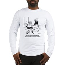 I Rarely Consult My Conscience Long Sleeve T-Shirt