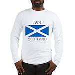 Ayr Scotland Long Sleeve T-Shirt