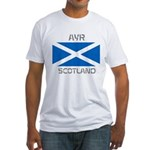 Ayr Scotland Fitted T-Shirt