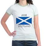 Ayr Scotland Jr. Ringer T-Shirt