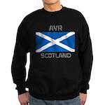 Ayr Scotland Sweatshirt (dark)