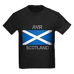 Ayr Scotland Kids Dark T-Shirt