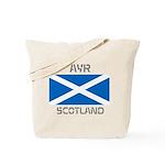 Ayr Scotland Tote Bag