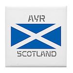 Ayr Scotland Tile Coaster