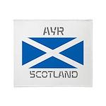 Ayr Scotland Throw Blanket