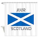 Ayr Scotland Shower Curtain