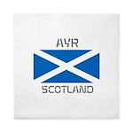 Ayr Scotland Queen Duvet