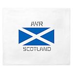Ayr Scotland King Duvet