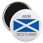 Ayr Scotland Magnet
